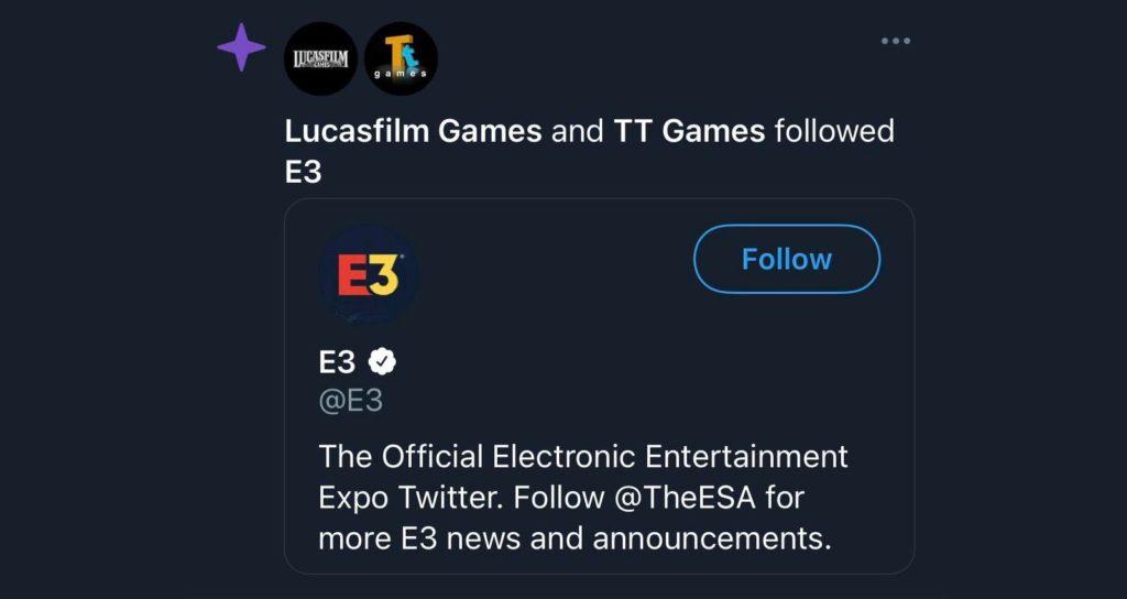 LEGO TT Games Lucasfilm E3 Twitter Featured