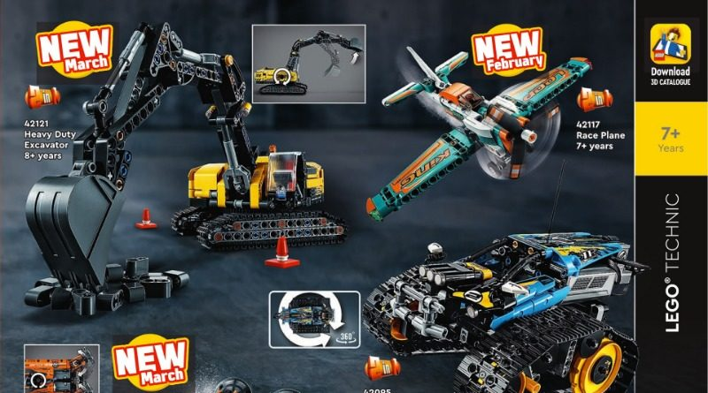 LEGO Technic 2021 Catalogue Featured 800x445