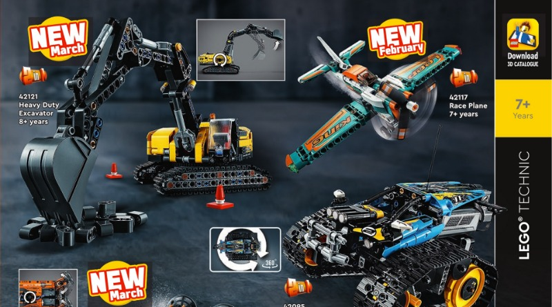 LEGO Technic 2021 Catalogue Featured