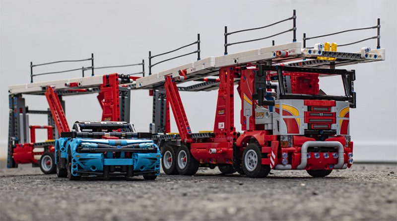 LEGO Technic 42098 Car Transporter Featured 800x445