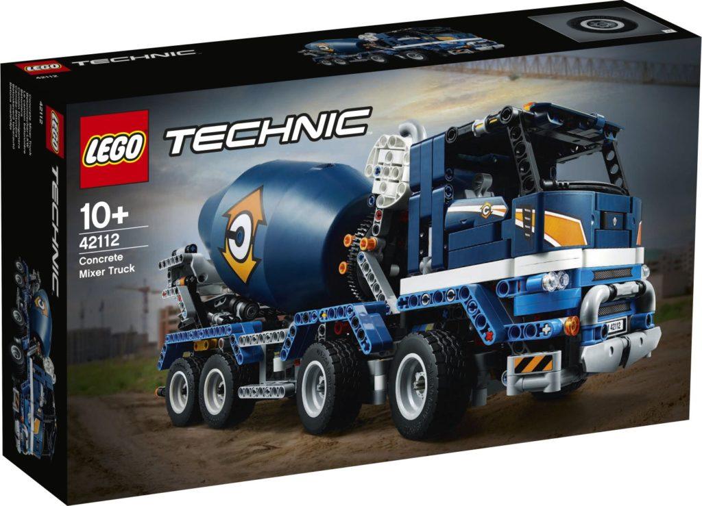 LEGO Technic 42112 Concrete Mixer Truck 1