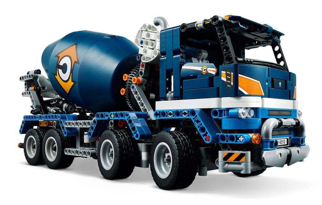 LEGO Technic 42112 Concrete Mixer Truck 3