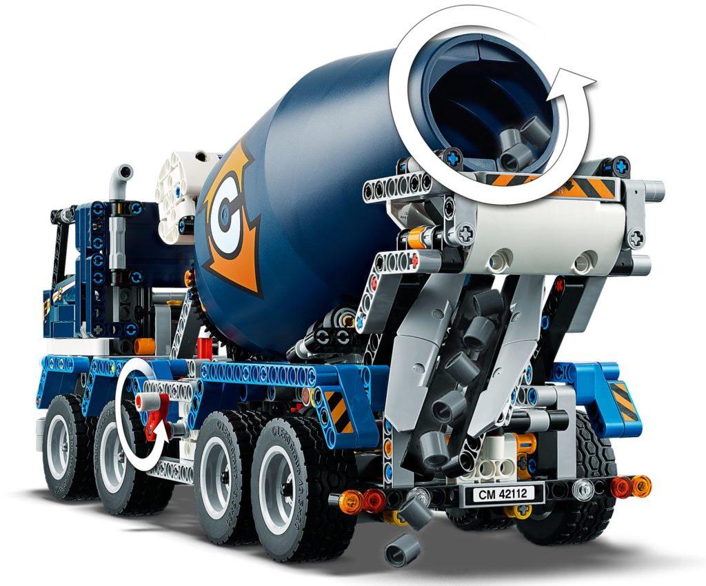 LEGO Technic 42112 Concrete Mixer Truck 5