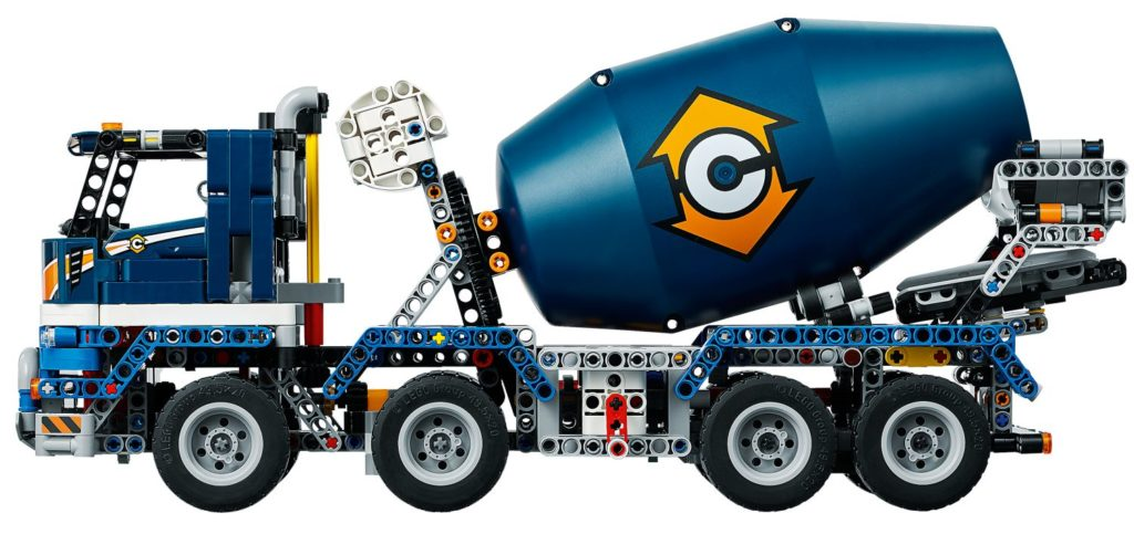 LEGO Technic 42112 Concrete Mixer Truck 6