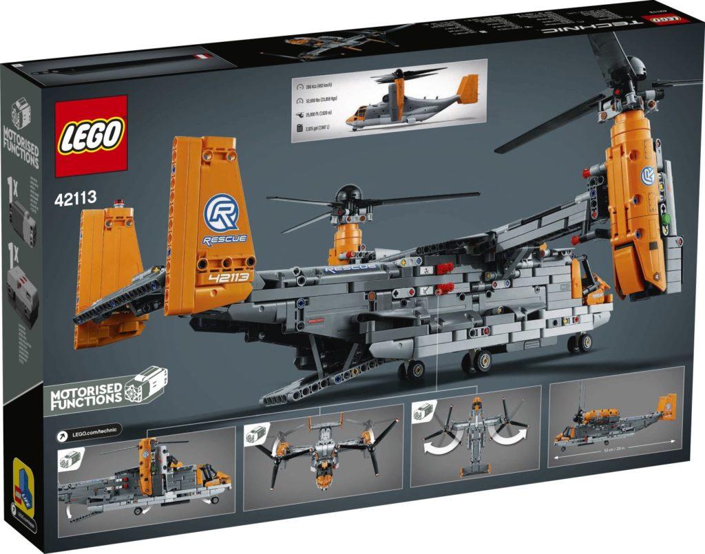 LEGO Technic 42113 Bell Boeing V 22 Osprey 2