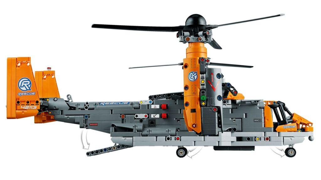 LEGO Technic 42113 Bell Boeing V 22 Osprey 7