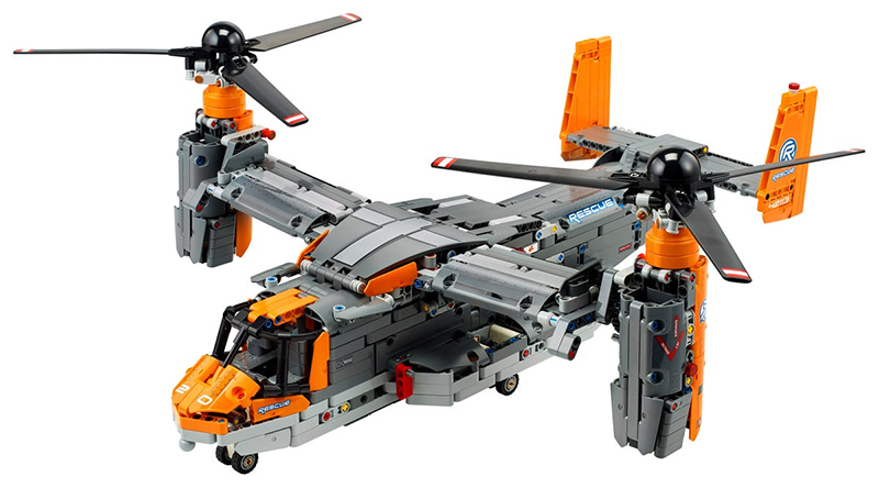 LEGO Technic 42113 Bell Boeing V 22 Osprey Helicopter Featured
