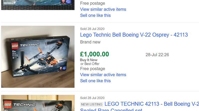 LEGO Technic 42113 Ebay Featured