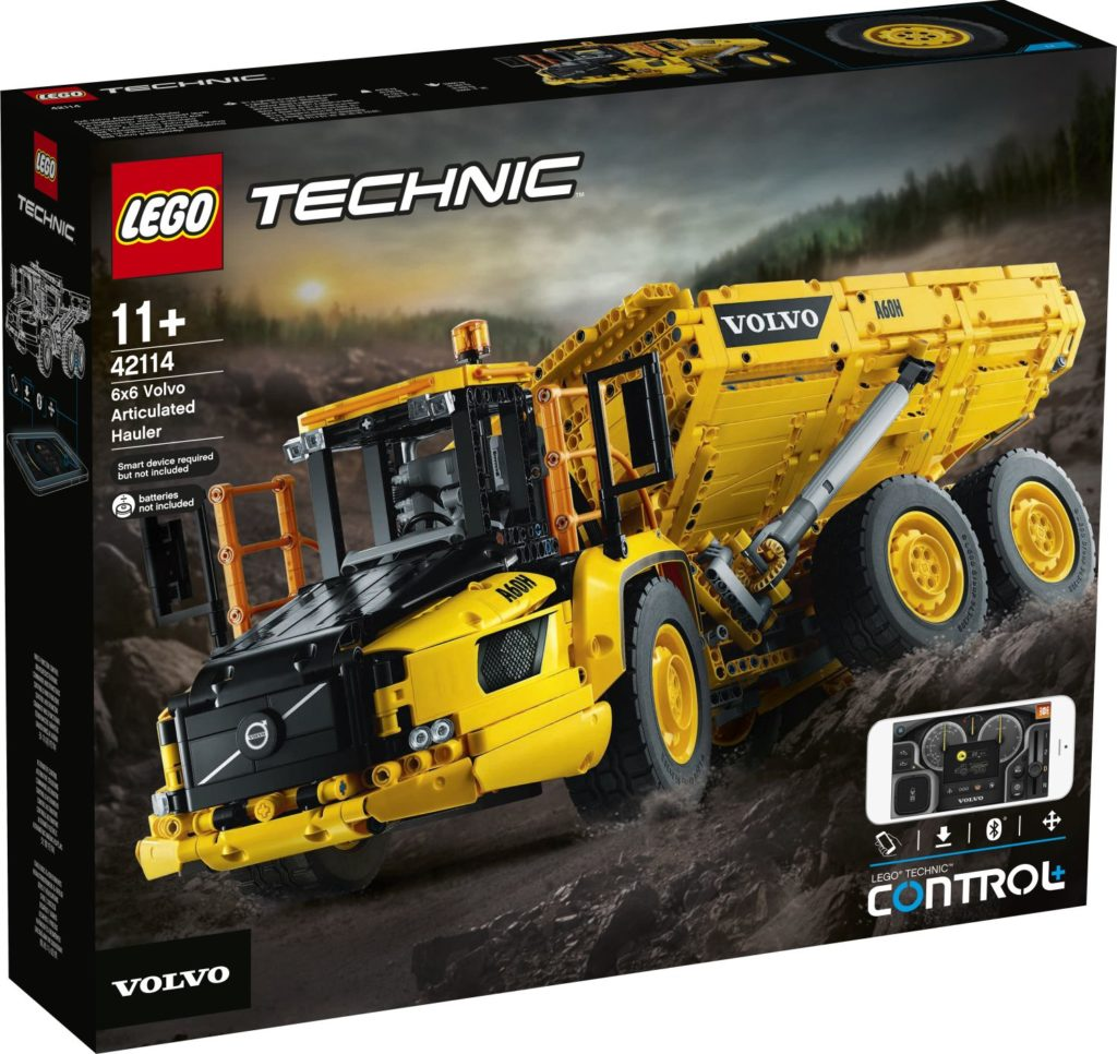 LEGO Technic 42114 6×6 Volvo Articulated Hauler 1