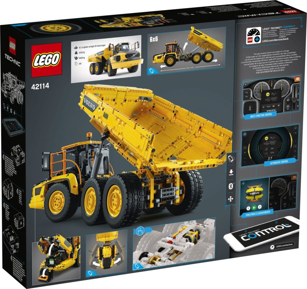 LEGO Technic 42114 6×6 Volvo Articulated Hauler 2