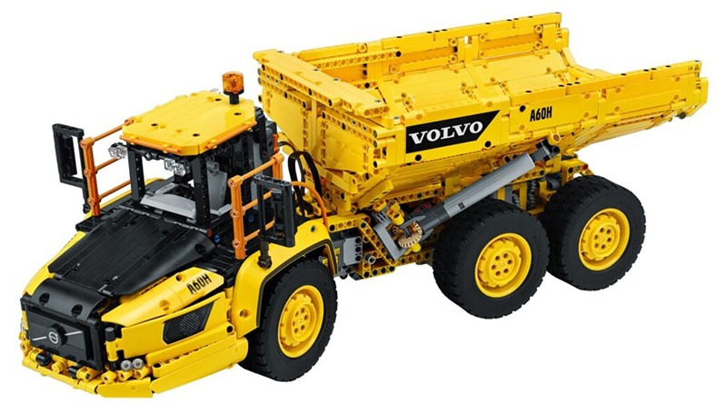 LEGO Technic 42114 6×6 Volvo Articulated Hauler Featured
