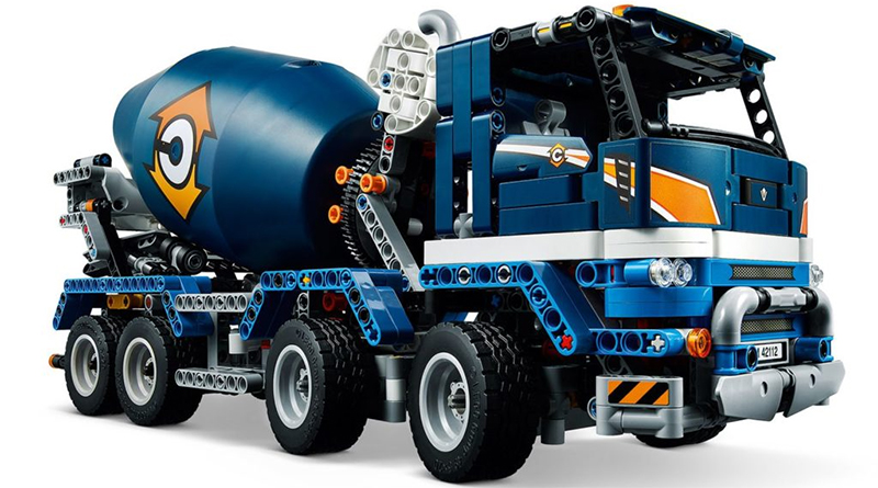 LEGO Technic 42114 Cement Mixer Featured