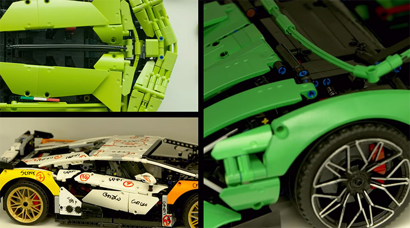 LEGO Technic 42115 Lamborghini Sián FKP 37 Bts Featured