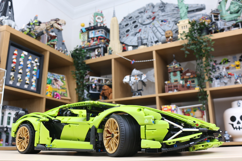 LEGO Technic 42115 Lamborghini Sian FKP 37 Review 100