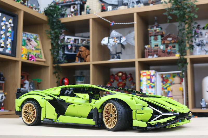 LEGO Technic 42115 Lamborghini Sian FKP 37 Review 101