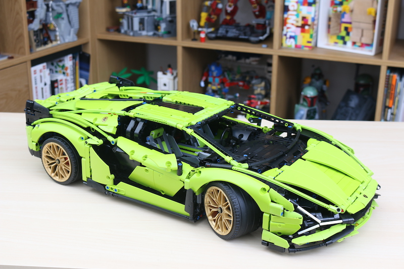 LEGO Technic 42115 Lamborghini Sian FKP 37 Review 102