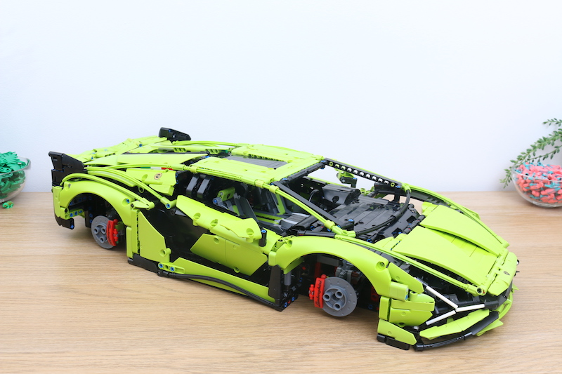 LEGO Technic 42115 Lamborghini Sian FKP 37 Review 73