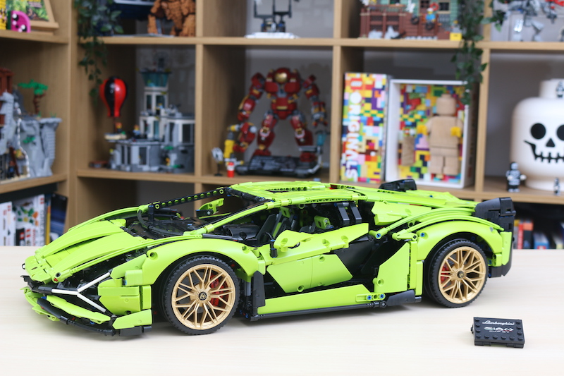 LEGO Technic 42115 Lamborghini Sian FKP 37 Review 76