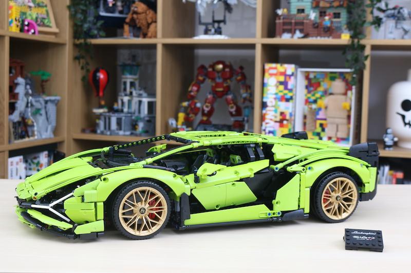 LEGO Technic 42115 Lamborghini Sian FKP 37 review 77
