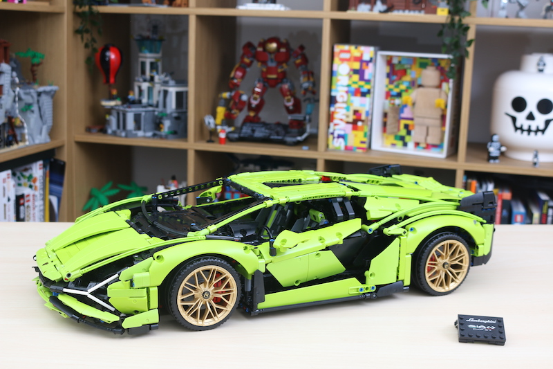 LEGO Technic 42115 Lamborghini Sian FKP 37 Review 78