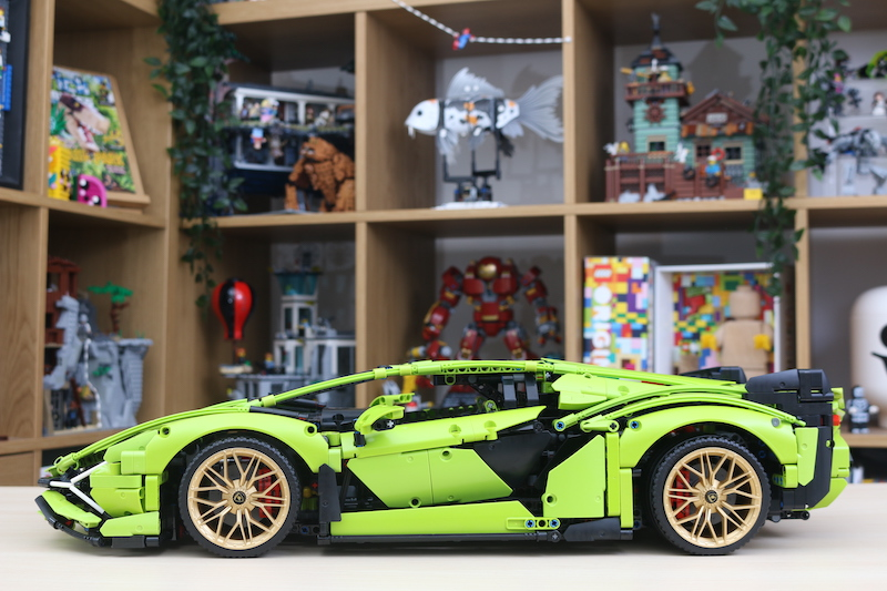 LEGO Technic 42115 Lamborghini Sian FKP 37 Review 79