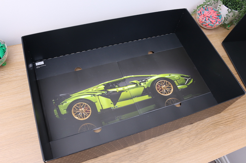 LEGO Technic 42115 Lamborghini Sian FKP 37 Review 8
