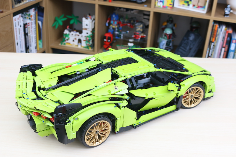 LEGO Technic 42115 Lamborghini Sian FKP 37 Review 81
