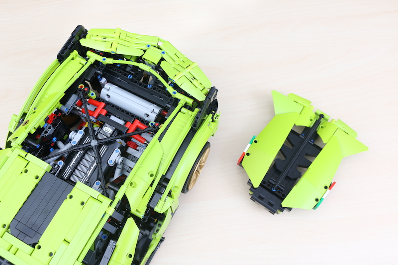 LEGO Technic 42115 Lamborghini Sian FKP 37 Review 83