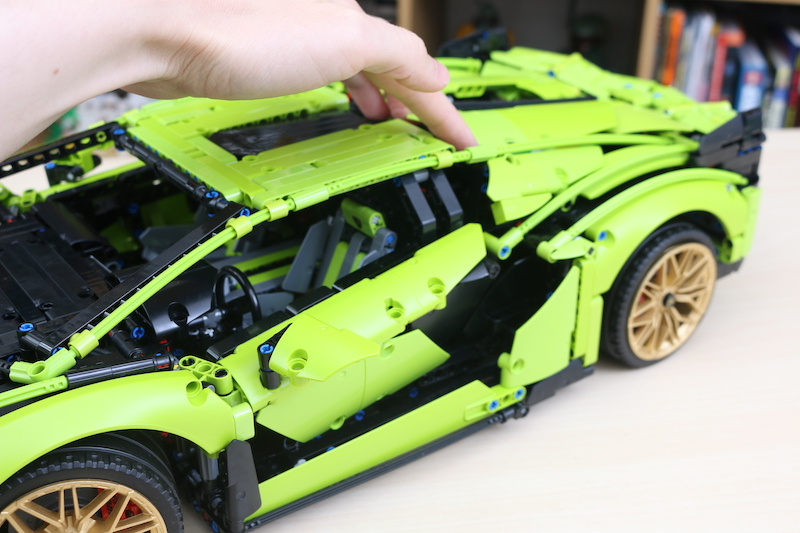 LEGO Technic 42115 Lamborghini Sian FKP 37 Review 85