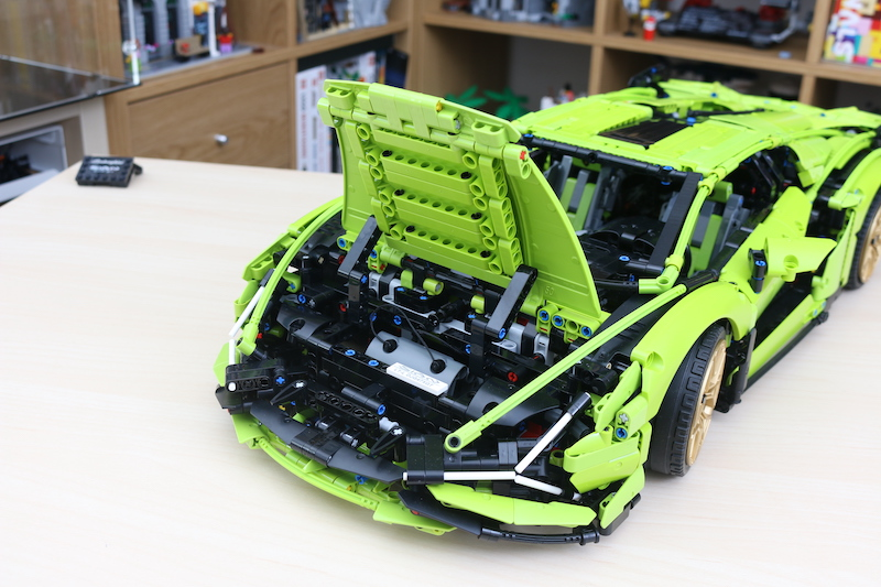 LEGO Technic 42115 Lamborghini Sian FKP 37 Review 92