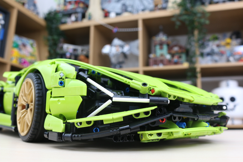 LEGO Technic 42115 Lamborghini Sian FKP 37 Review 94