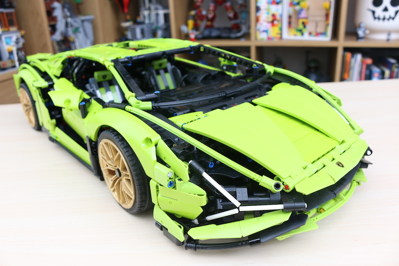 LEGO Technic 42115 Lamborghini Sian FKP 37 Review 97