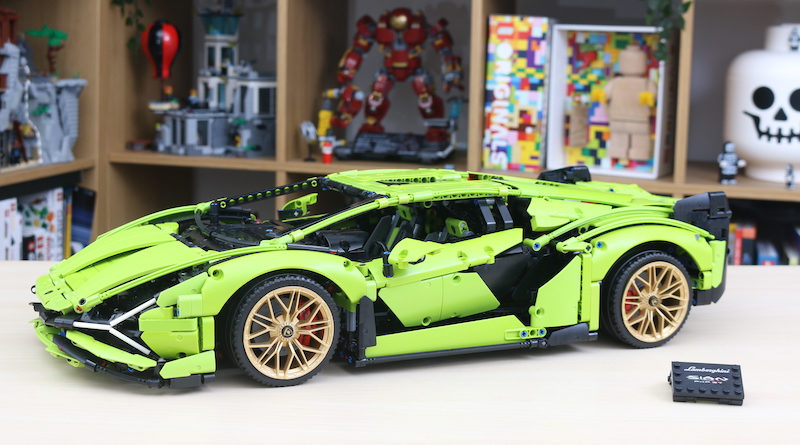 LEGO Technic 42115 Lamborghini Sian FKP 37 Review Title 800x445