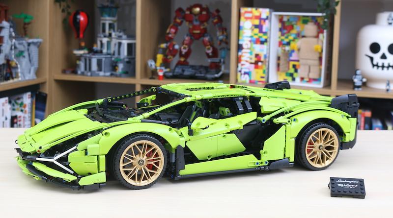 LEGO Technic 42115 Lamborghini Sian FKP 37 Review Title
