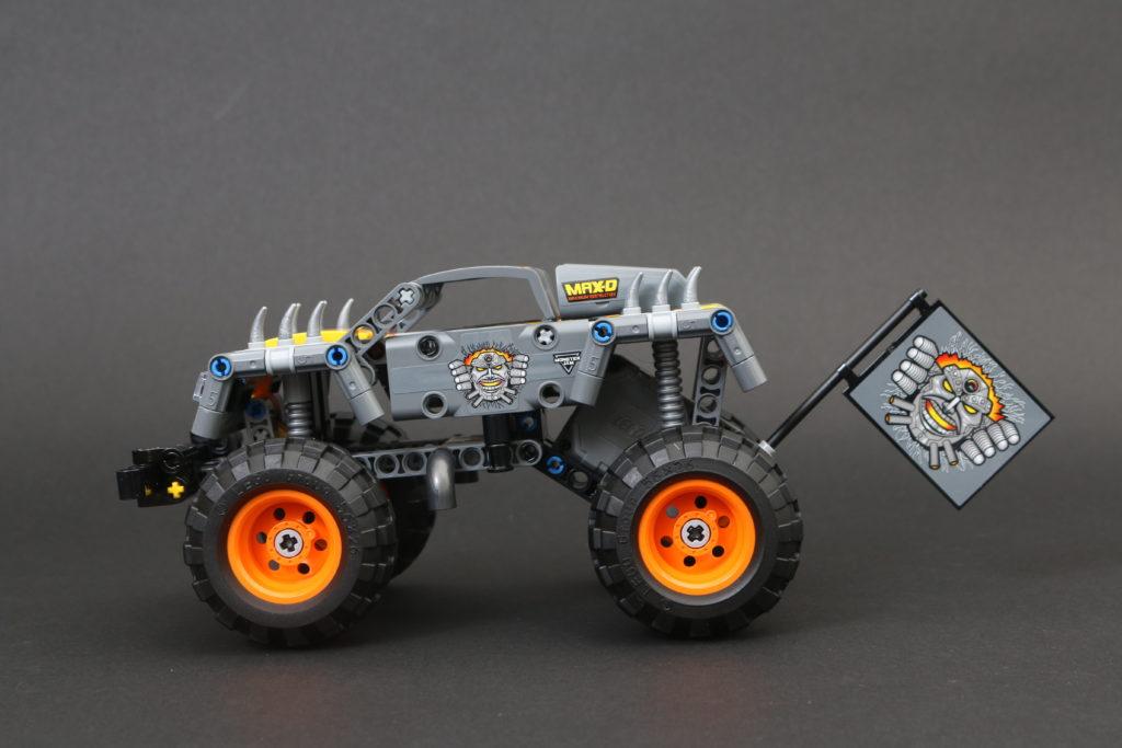 LEGO Technic 42119 Monster Jam Max-D review