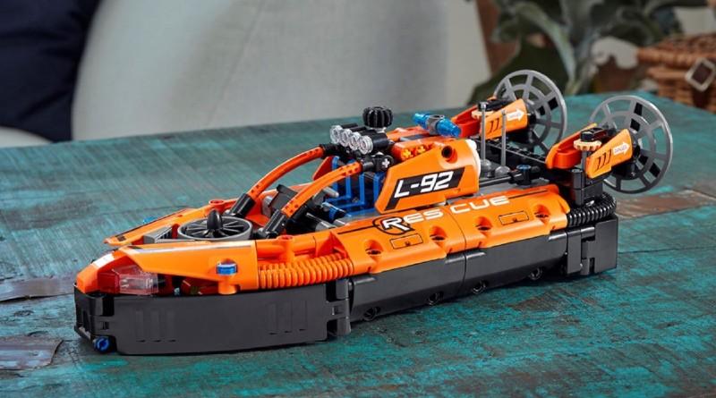 LEGO Technic 42120 Rescue Hovercraft Lifestyle Featured