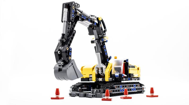 LEGO Technic 42121 Heavy Duty Excavator FEATURED NEW