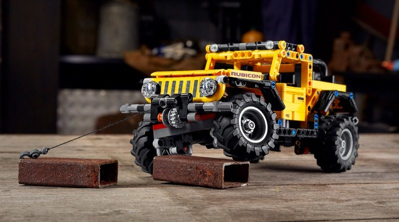 LEGO Technic 42122 Jeep Wrangler Featured 800x445