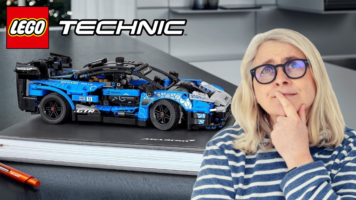 LEGO Technic 42123 McLaren Senna Emma Kennedy Featured