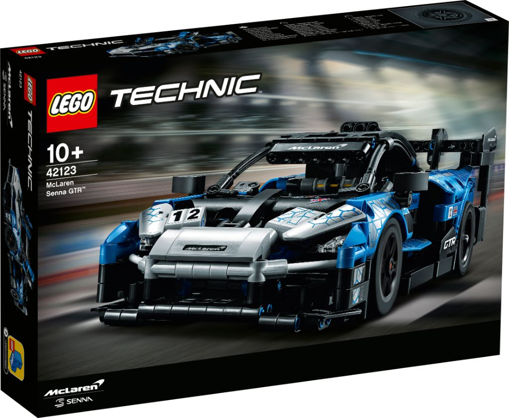 LEGO Technic 42123 McLaren Senna GTR 1