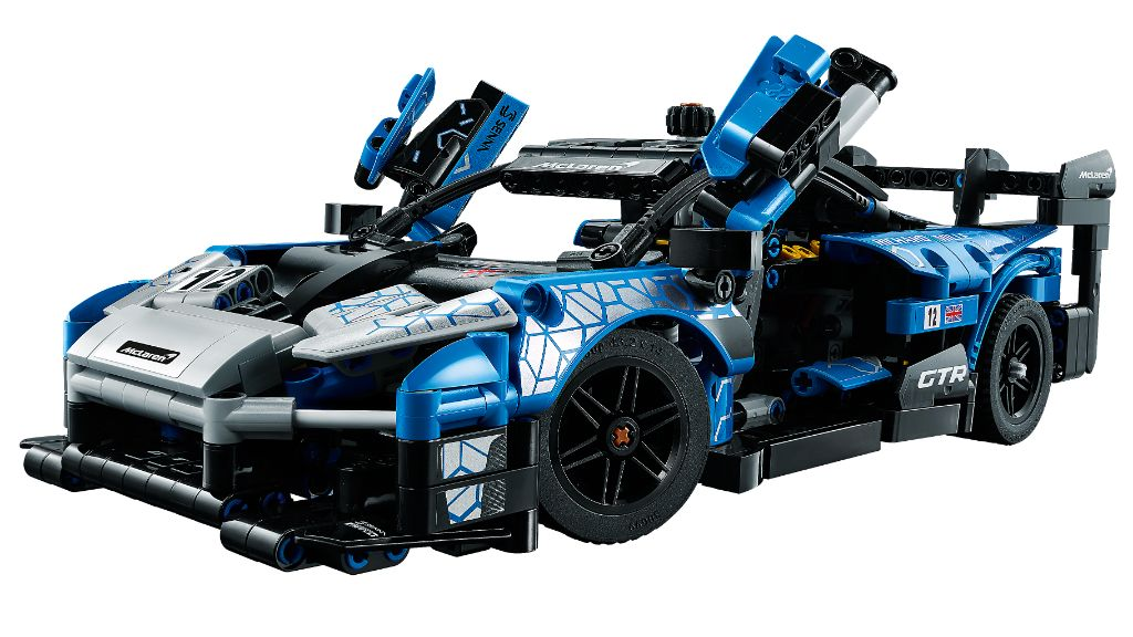 LEGO Technic 42123 McLaren Senna GTR 12