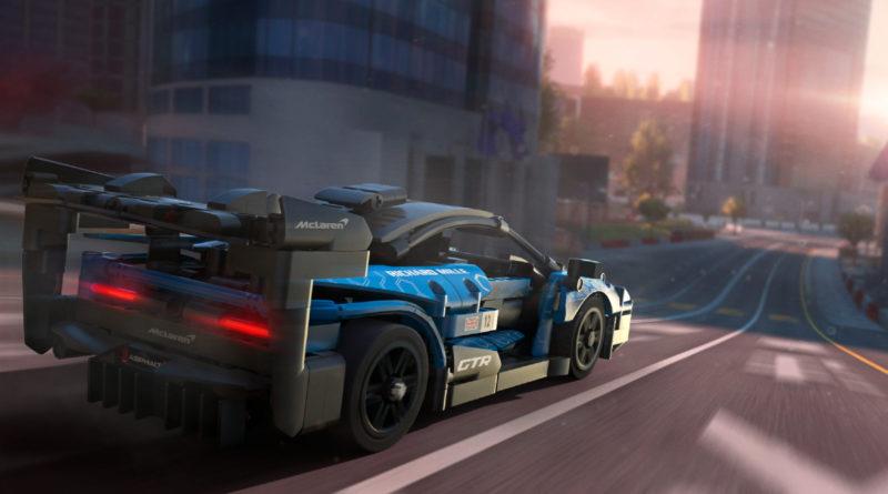 LEGO Technic 42123 McLaren Senna GTR Asphalt 9 game featured