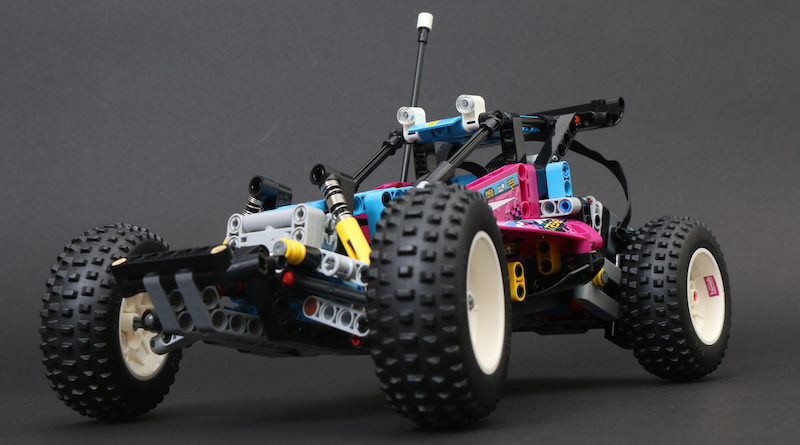 LEGO Technic 42124 Off Road Buggy Review Title 800x445