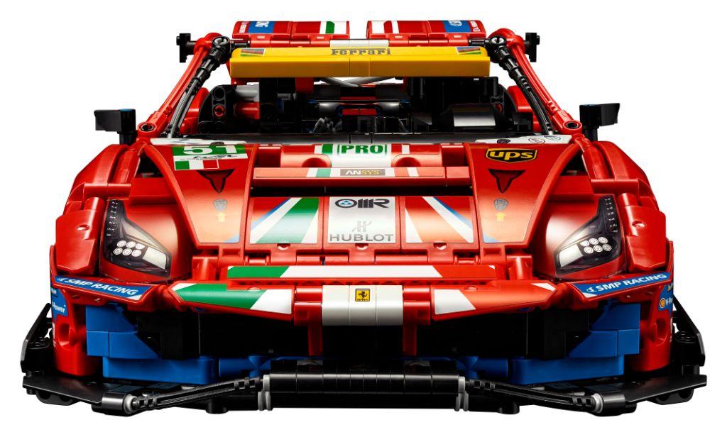 LEGO Technic 42125 Ferrari 488 GTE AF CORSE 51 1