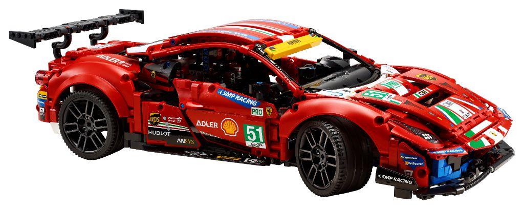 LEGO Technic 42125 Ferrari 488 GTE AF CORSE 51 9