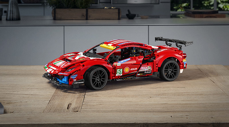 LEGO Technic 42125 Ferrari 488 GTE AF CORSE 51 Featured 800x445
