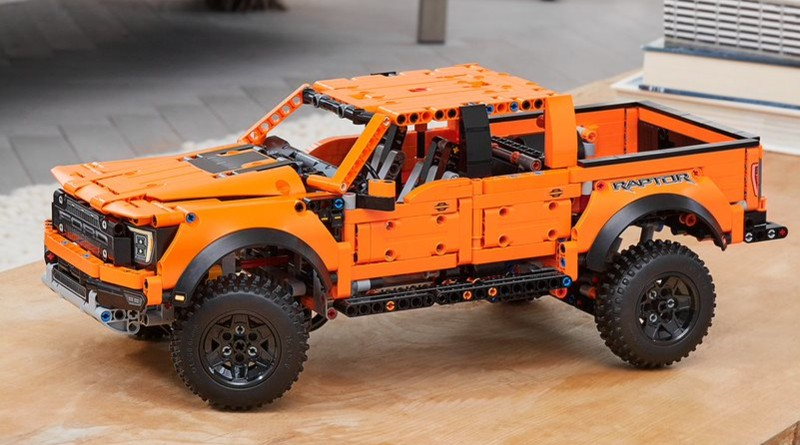LEGO Technic 42126 F 150 Raptor Lifestyle Featured
