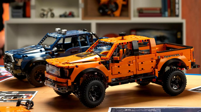 LEGO Technic 42126 Ford F 150 Raptor Prototype Featured