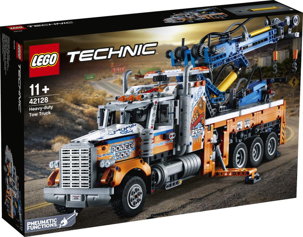 LEGO Technic 42128 Heavy duty Tow Truck 1