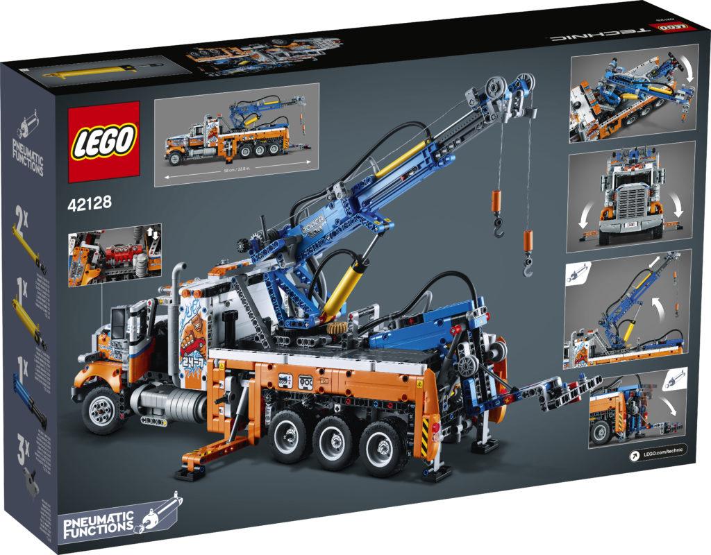 LEGO Technic 42128 Heavy duty Tow Truck 2
